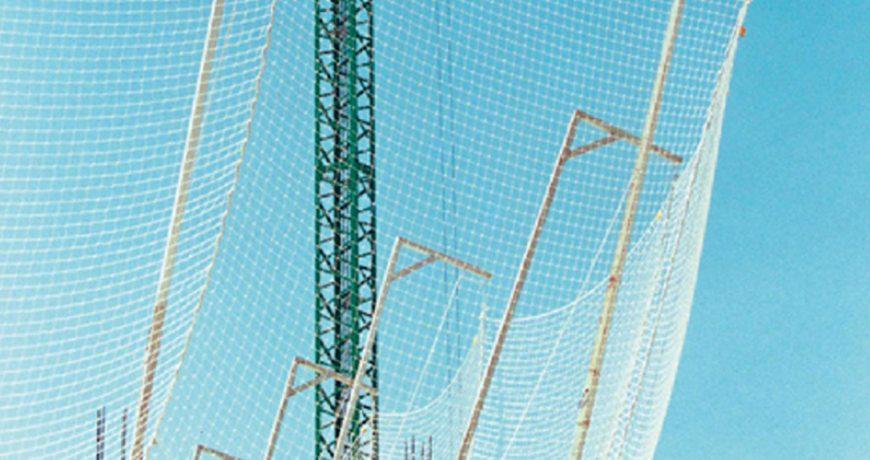 redes y cuerdas de seguridad